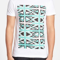 Men's French Connection 'Pixel Repeat' Graphic T-Shirt,