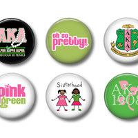 AKA Magnets or Buttons - Set of 6