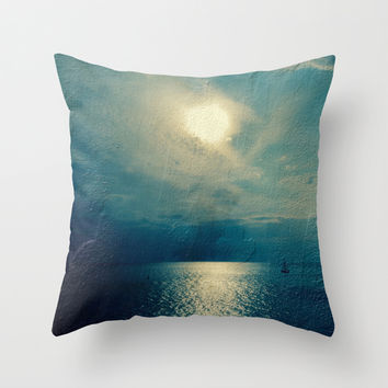 Sea of Dreams II Throw Pillow by VanessaGF