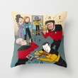 Star Trek Jam Band Throw Pillow by Jessica Fink | Society6