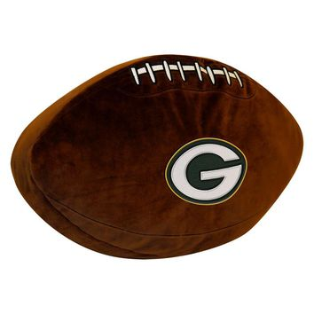 Green Bay Packers NFL 3D Sports Pillow
