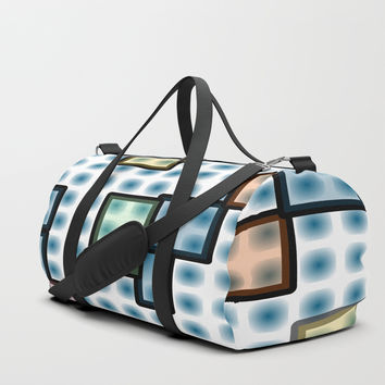 zappwaits glass Duffle Bag by netzauge