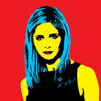 8x10 print Buffy the Vampire Slayer