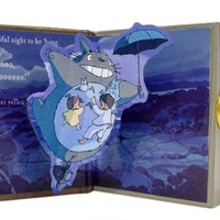 Studio Ghibli My Neighbor Totoro Music Box BOOK type Beautiful Night (japan import)