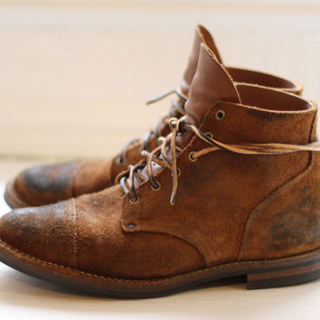 The Cabourn x Viberg Boots