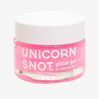 Unicorn Snot Pink Glitter Hair & Body Gel