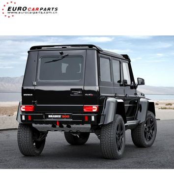G500 4x4 rear skid plate for W463 G500 G63 4x4 rear guard plate protect the rear bumper below aluminum material 19kg weight