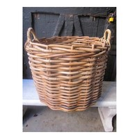 Woven Willow Basket, Large