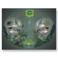 """Absinthe:  Anise and Artemisia"" Postcard from Zazzle.com"
