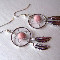 Dream Catcher Earrings from Country Wind