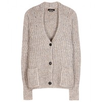 Franck wool and mohair-blend cardigan