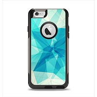 The Vector Abstract Shaped Blue Overlay V2 Apple iPhone 6 Otterbox Commuter Case Skin Set