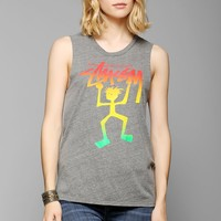 Stussy Rasta Muscle Tee - Urban Outfitters