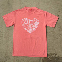 Watermelon Don't Mess With Texas Women T-Shirt