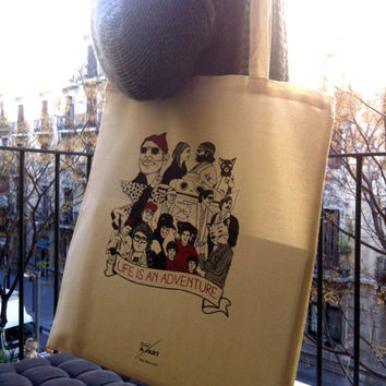 Wes Anderson's world Tote Bag