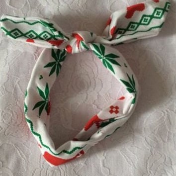 In Stock- Reindeer Adjustable Headband