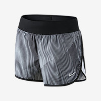 The Nike Tempo Rival Printed Girls' Running Shorts.