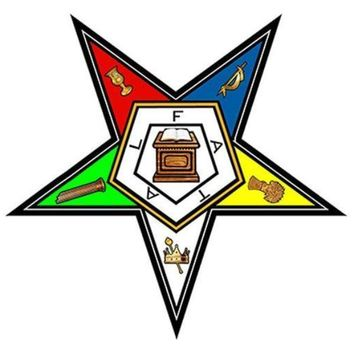 Car Styling Masonic Order Of The Eastern Star Decal Sticker