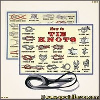 How to Tie Knots - Survival  Field Items - Field  Survival Gear / Disaster Preparedness - Special Forces Gear