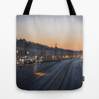 Sunset on Bordeaux Tote Bag by Architect´s Eye | Society6
