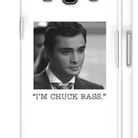 Gossip Girl Phone Case - Chuck Bass iphone 4 4S 5 5S 5C samsung s2 s3 s4 ipod touch case note 1 2 3 xoxo tumblr manhattan fashion girly