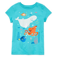 Disney Collection Short-Sleeve Dory Graphic Tee - Girls - JCPenney