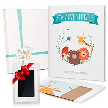First 5 Years Memory Book Baby Album & Journal for New & Expectant Parents