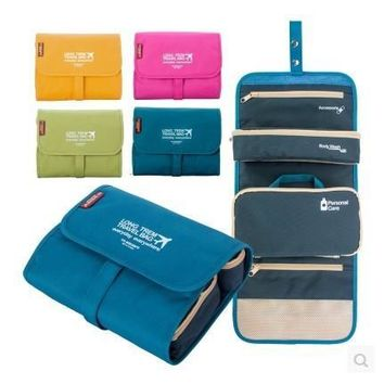On Sale Beauty Hot Deal Hot Sale Toiletry Kits Travel Storage Make-up Bag [6432416902]
