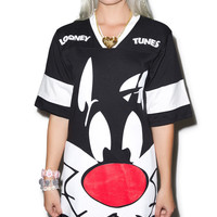 Hellz Bellz Tune Cat Jersey Black