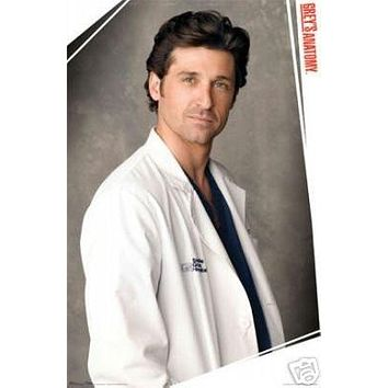 (24x36) Grey's Anatomy (McDreamy) TV Poster Print