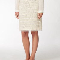 Cotton skirt, yellow - CANTORE Max Mara