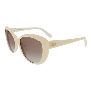 Valentino Ivory Cat Eye Valentino Sunglasses