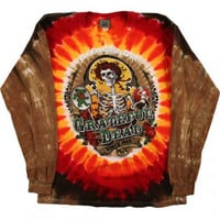 Grateful Dead Bay Area Beloved Tie Dye Long Sleeve - Grateful Dead - G - Artists/Groups - Rockabilia