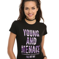 Fall Out Boy Young And Menace Girls T-Shirt