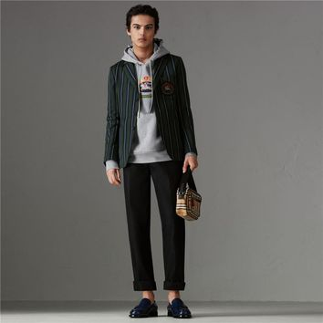 Burberry Men's winter fashion Hooded sweater