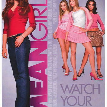 Mean Girls Movie Poster 11x17