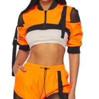In The Fast Lane Jacket & Shorts set