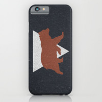 Bear & Bravery iPhone & iPod Case by Zeke Tucker
