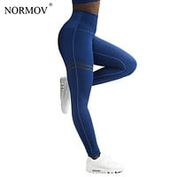 NORMOV Activewear High Waist Fitness Leggings Slim