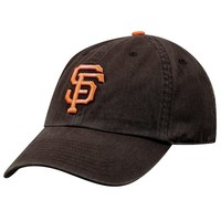 San Francisco Giants Garment Washed Baseball Cap, Size: One Size (Black)
