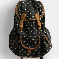 Maryanne Polka Dot Backpack - $66.00 : ThreadSence, Women's Indie & Bohemian Clothing, Dresses, & Accessories