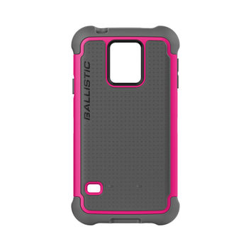 Ballistic Samsung Galaxy S5 Tough Jacket Case - Pink / Grey