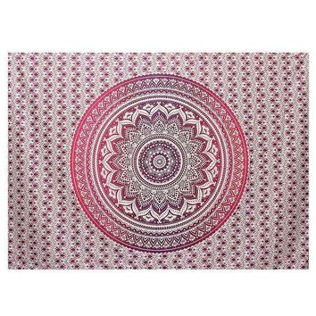 New Indian Mandala Tapestry Wall Hanging Printed Beach Throw Towel Yoga Mat Table Cloth Bedding Outlet Home Decor 200x150cm
