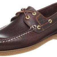 Timberland Womens Amherst 2-Eye Boat Shoe Rootbeer 7.5B