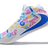 Nike Zoom Freak 1 PE - White/BLUE