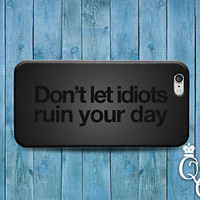 Cute Quote Phone Cover Funny Custom Case iPod Touch iPhone 4 4s 5 5s 5c 6 Plus +