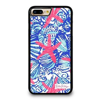 LILLY PULITZER PRETTY ESCAPE iPhone 4/4S 5/5S/SE 5C 6/6S 7 8 Plus X Case