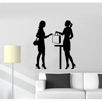 Vinyl Wall Decal Office Style Girls Business Job Work Decor Stickers Mural (g1602)