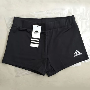 Adidas Women Casual Sports Gym Leisure Sports Shorts