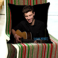 The Shawn Mendes EP on Decorative Pillow for JoyoBinanunG